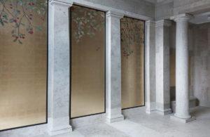 vergoldung, atelier wandlungen, berlin, blattgold, gold, kudamm, exklusiv, decoration, eingangshalle