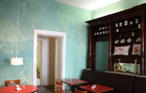 wandmalerei barockornament wallpainting schokoladen