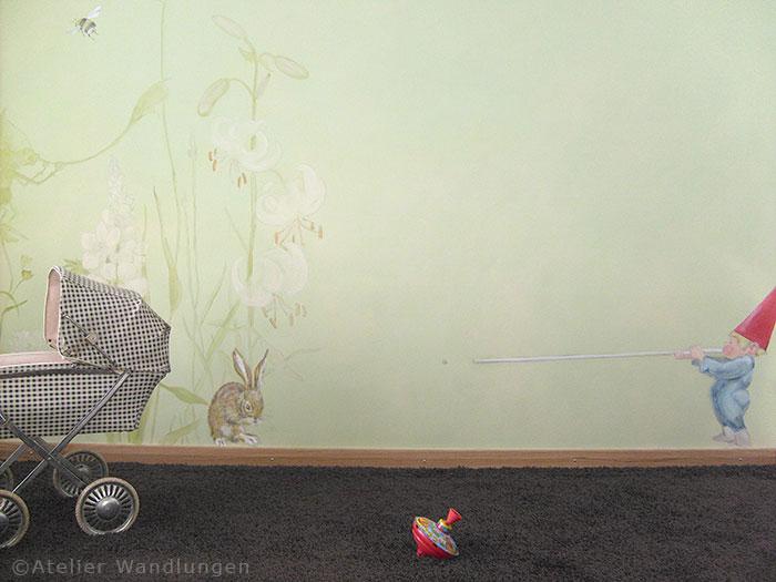 Kinderzimmer, Wandmalerei, Märchen, Wandbild, kinder, Baby, deko