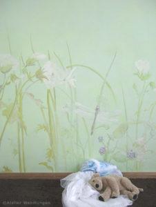 Kinderzimmer Wandmalerei Märchen