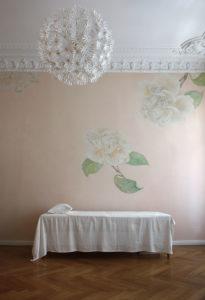 heilpraxis, wandmalerei,gold,atelier wandlungen,ornament,decoration