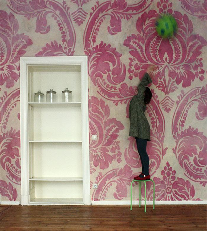 Eisladen,wandmalerei, ornament, decoration, atelier wandlungen