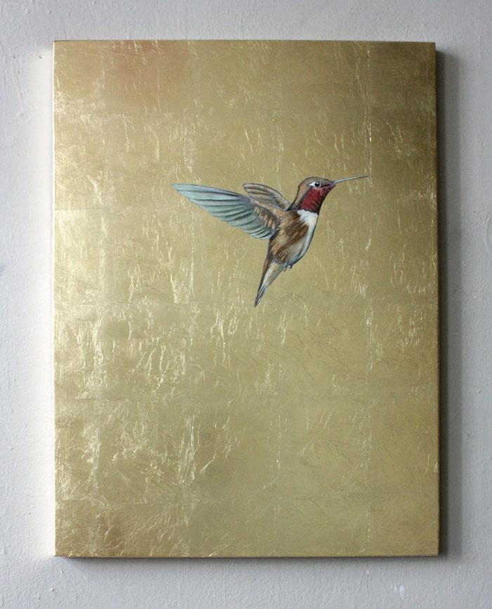 gold kolibri